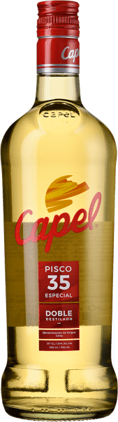 Pisco Capel Especial 35° Doble Destilado - 350ml