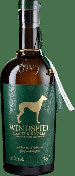 Windspiel Kraut & Knolle Premium Kräuterspirituose