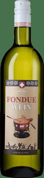 Fondue Wein