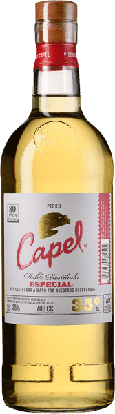 Pisco Capel Especial 35° Doble Destilado