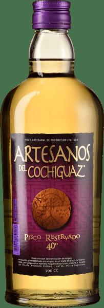 Pisco Los Artesanos del Cochiguaz Reservado 40°