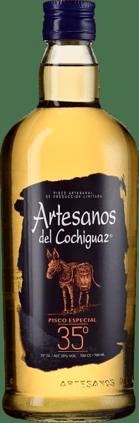Pisco Los Artesanos del Cochiguaz Especial 35°